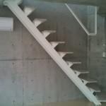 防音マンション 金線 デザイナーズ メゾネット階段
