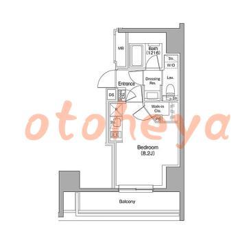 tokyo23物件 1R 12.9万円の図面1